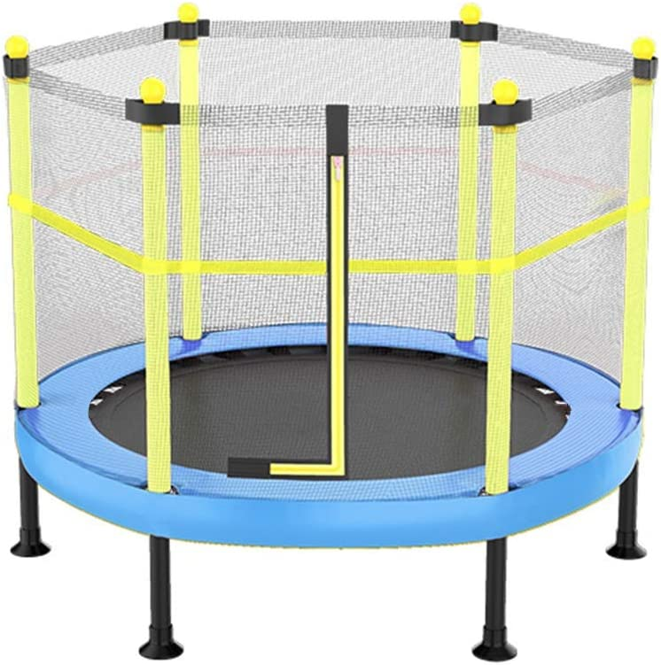 Long gang shop Kid Mini trampolín con Red, Plegable Trampolín 40