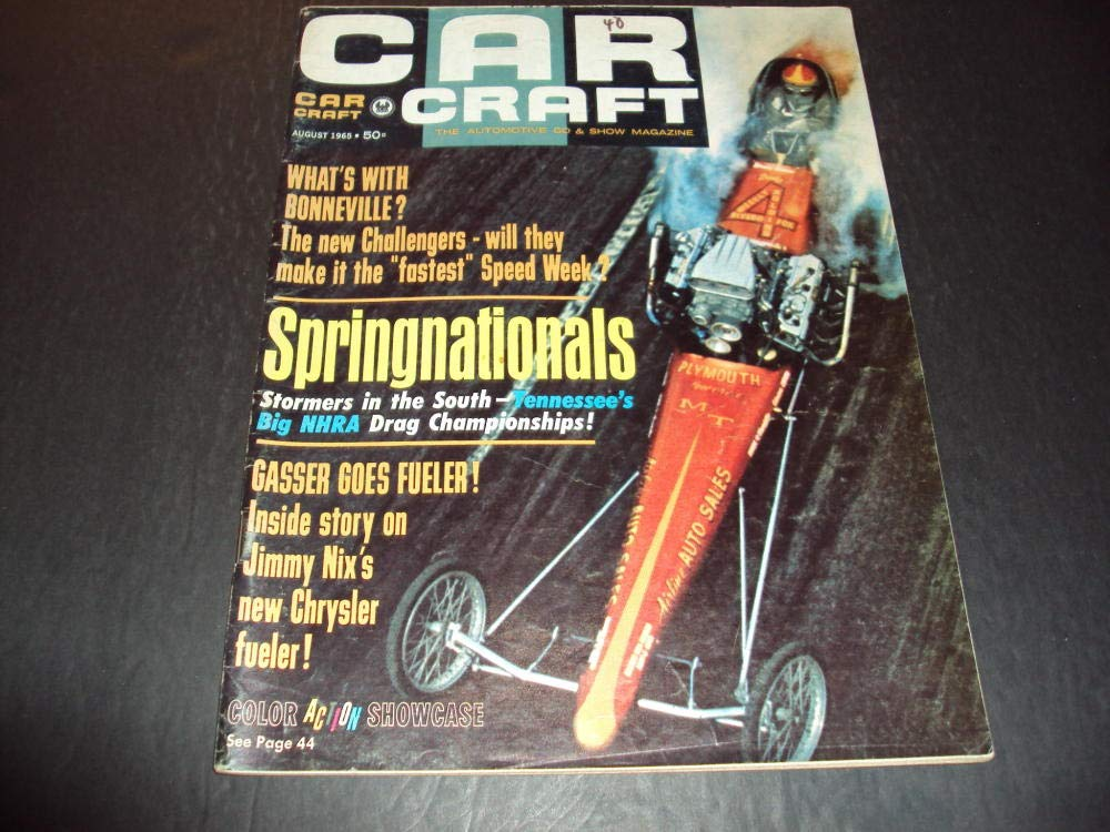 Car Craft Aug 1965 Springnationals, Gasser Goes Fueler at