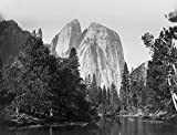 Cathedral Rock Yosemite Valley 8x10