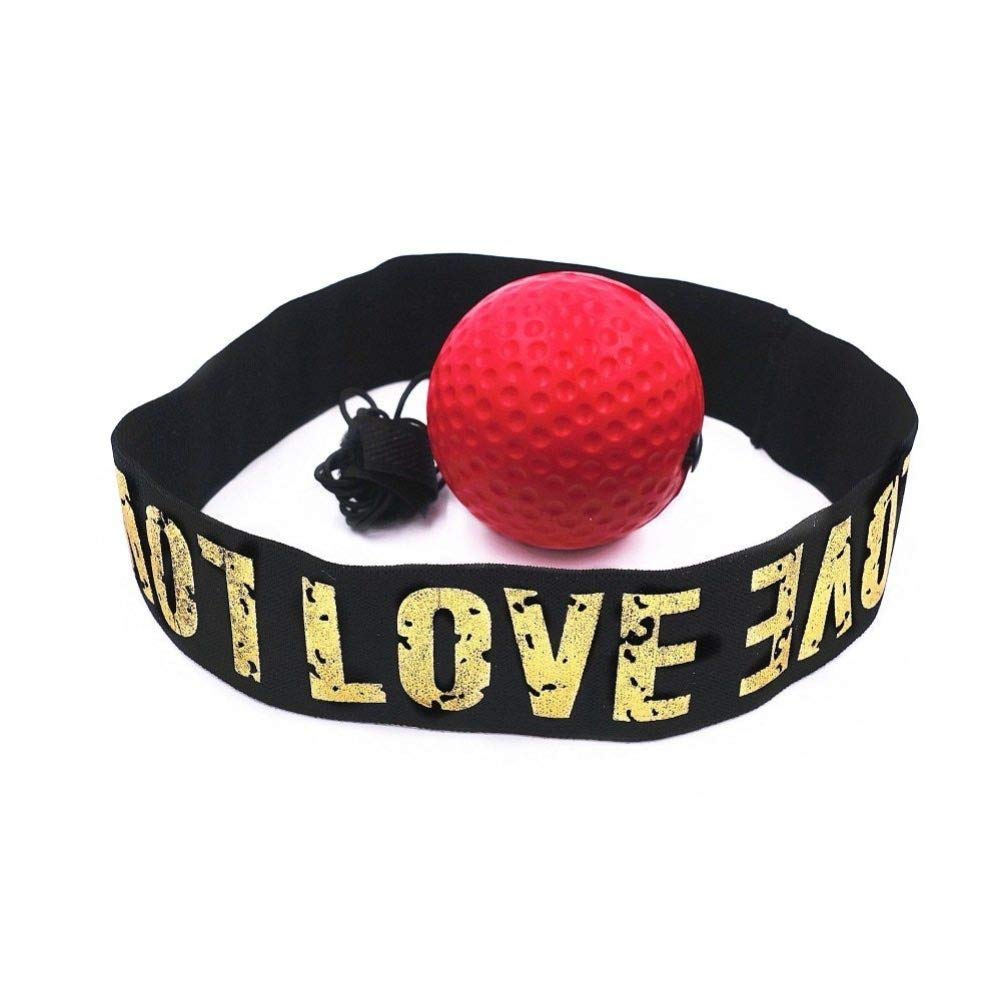Balle r/éflexe de Combat sur Ficelle avec Serre-t/ête pour la r/éaction Jiadi Ballon r/éflexe de Boxe lagilit/é la comp/étence de Combat et la Coordination /œil-Main la Vitesse de Frappe