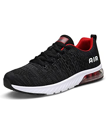 3817cf974 Mens Womens Trainers Gym Fitness Sports Shoes Air Lightweight Road Running  Shoes Breathable Sneakers Casual Shock