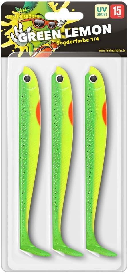 Lieblingsköder Green Lemon 7,5// 10// 12,5// 15cm UV Aktiv!