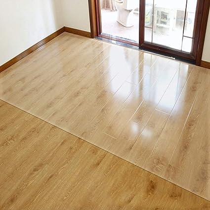 Tapis Prot/ège-sol casa pura/® Polypropyl/ène Opaque 4 Tailles 120x150cm Tapis Anti-d/érapant Parquet Protection Sol Dur Lino