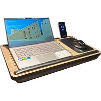 Axolotl Supply Telefon Ve Tablet Bölmeli Minderli Laptop Sehpası Notebook Bilgisayar Çalışma Masası
