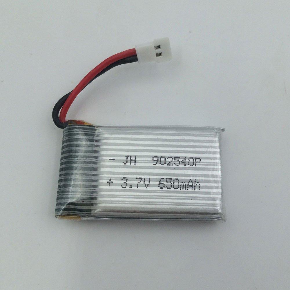 Jiayuane Batería de LiPO, batería de 3.7V 650mAh UAV Lipo ...