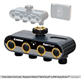 Melnor RAINCLOUD/WiFi AquaTimer Add-On Faucet Valve Unit, Requires Raincloud Controller/WiFi AquaTimer, 4 Valve, 1 Pack