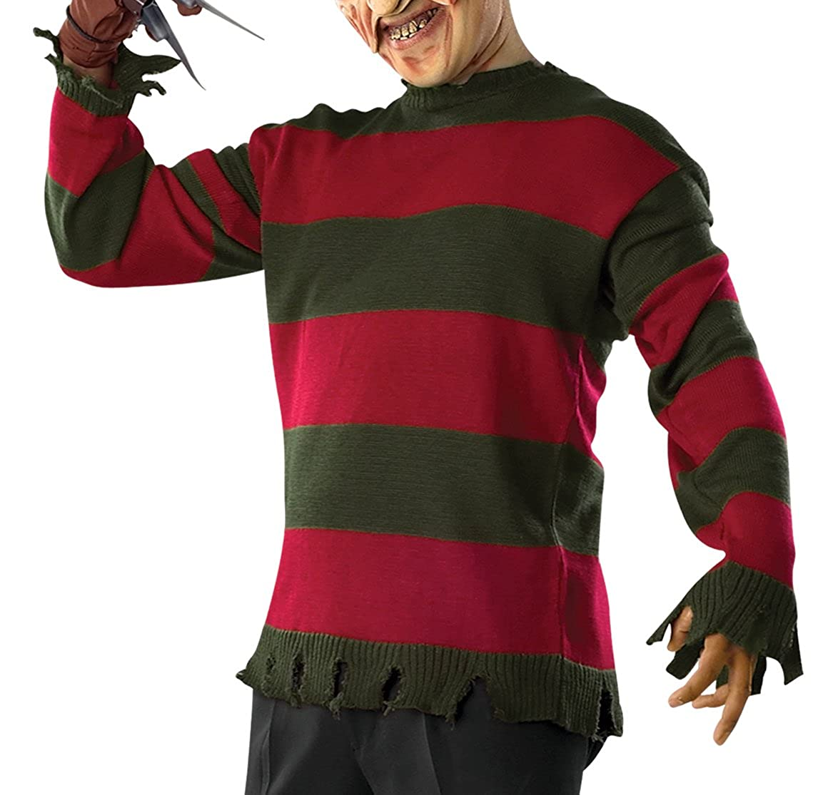 Rubie's Costume Men's Nightmare On Elm St Deluxe Adult Freddy Sweater Rubies Costumes - Apparel
