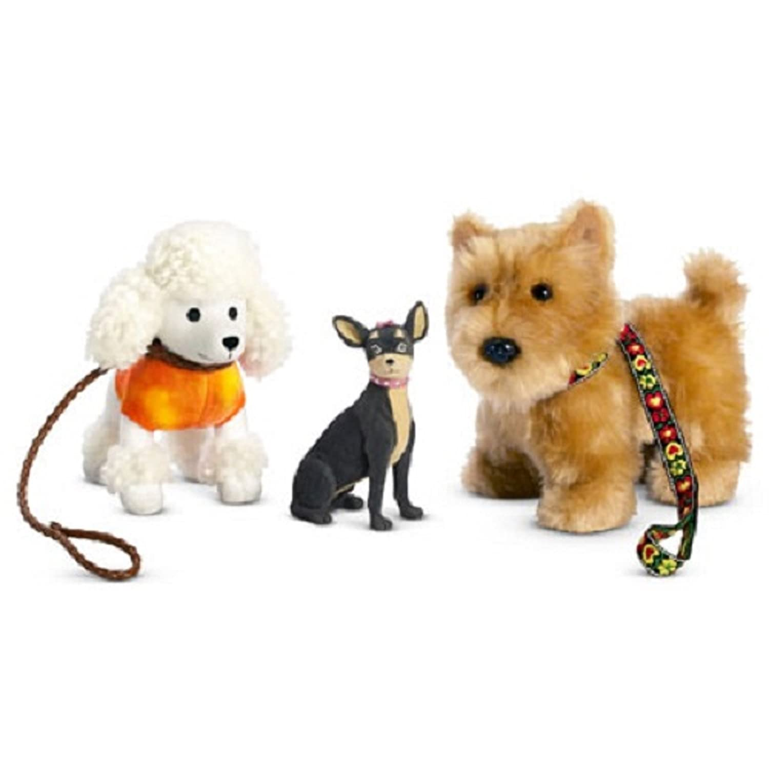 Amazon Julie s Dog Walking Set by American Girl Toys & Games