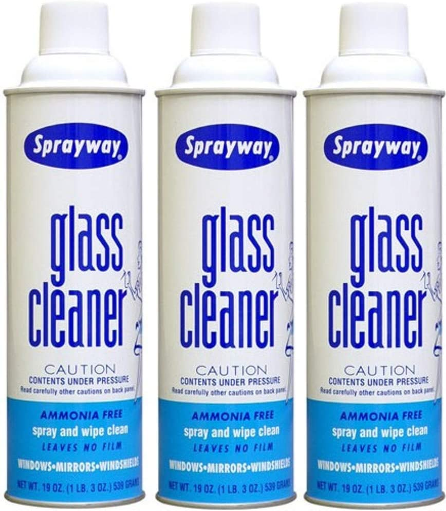 Sprayway S50 Glass Cleaner - Pack of 3 Cans