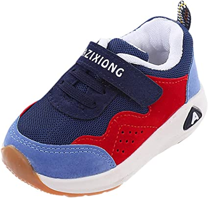 Boys Girls Teen Fall Winter Athletic Running Shoes for 5-12 Years Old Children Mesh Soft Breathable Sneakers