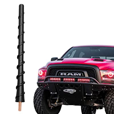 VOFONO 7 Inch Replacement Antenna Fits 2009-2020 Dodge RAM 1500 & Ford F150