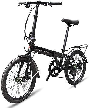 XWDQ Bicicleta De Montaña Bicicleta Plegable De 20 Pulgadas Mini ...