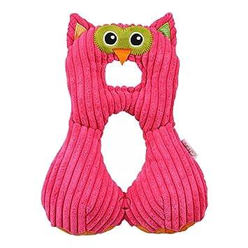 Baby Travel Neck Pillow Plush Owl Toddler Safety Car Seat Kids Cushion Soft