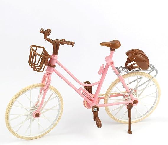 Amazon.es: Bicicleta rosada Juguete para casa Bicicleta ...