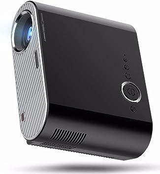 3200 lúmenes 1280x800 Pixeles 10000: 1 proyector Portable de 1080p ...