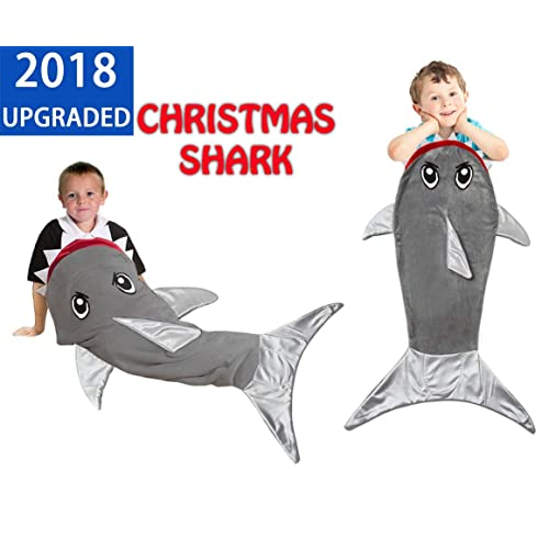 Shark Tail Blanket Sleeping Bag For Boys Girls And Kids Age 3 12 Years