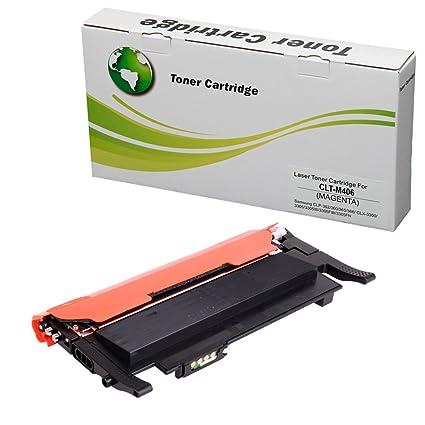 Tóner CLT-N406C de para Samsung CLP-360 / CLP-365 / CLX-3300 / CLX ...