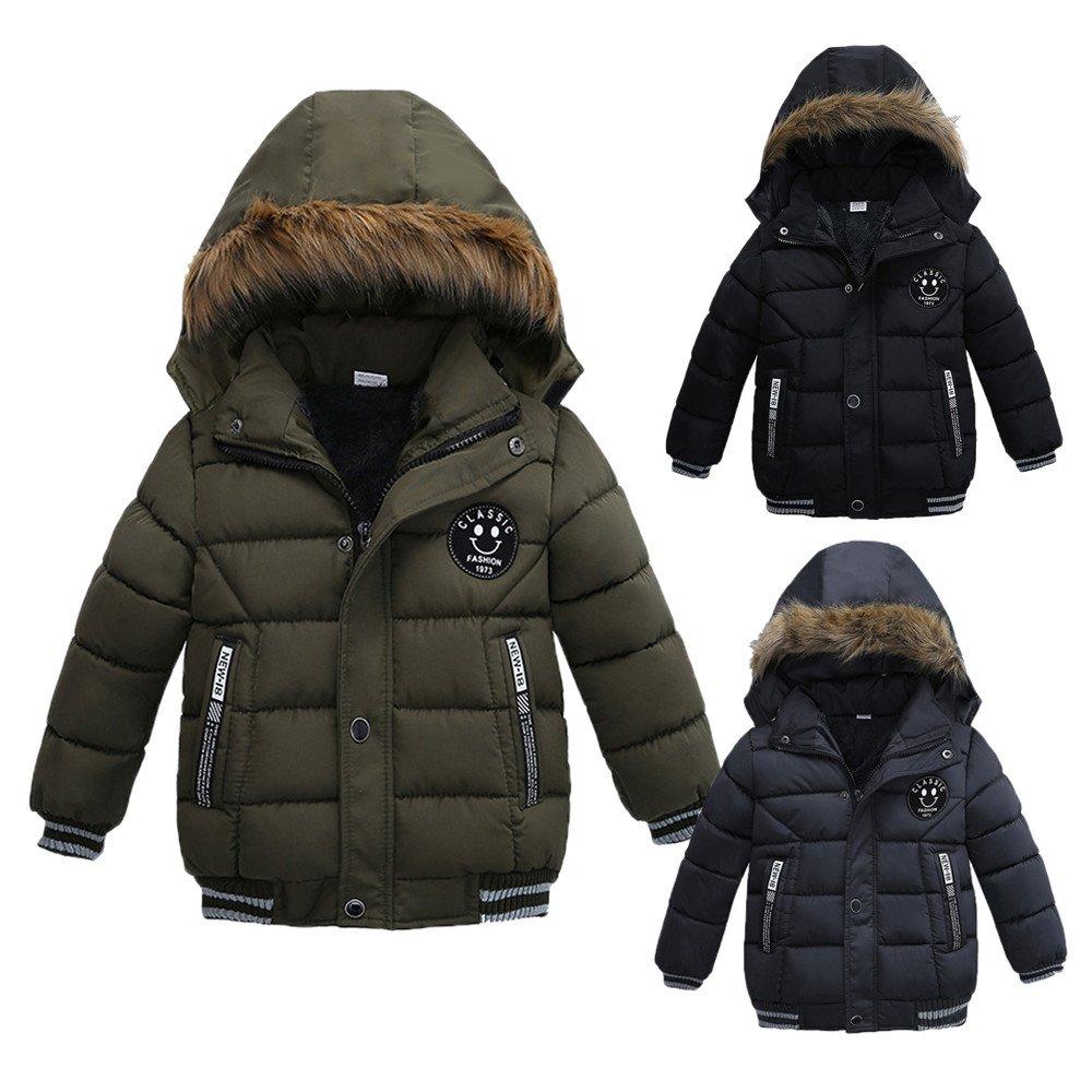 Baby Boys Girls One Piece Hood Winter Snowsuit Jumpsuit Warm Thick Coat