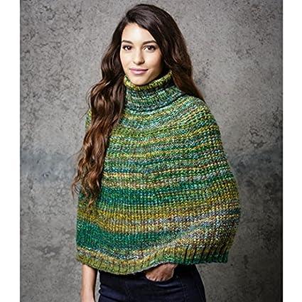 Amazon Stylecraft Ladies Poncho Wrap Carnival Knitting