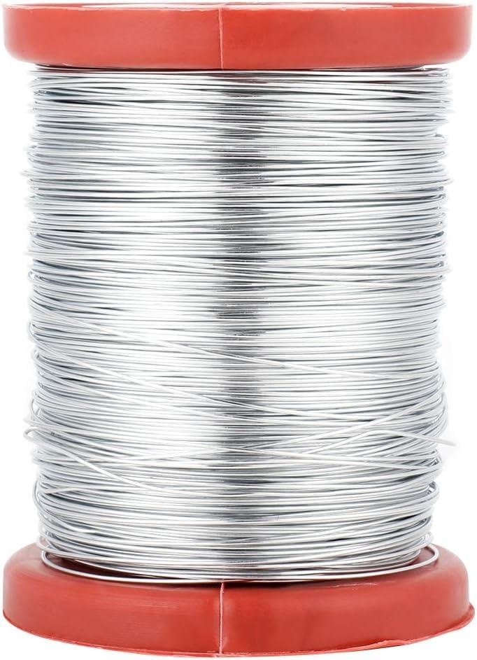 Pasamer 0.5mm Apiculture Cadre en Acier Inoxydable Fil Cadre Fil de Fer pour Outil de Cadres Ruches 01