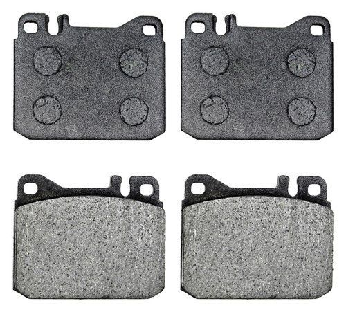 ACDelco 17D145A Professional Organic Front Disc Brake Pad (500sel Front Brake)