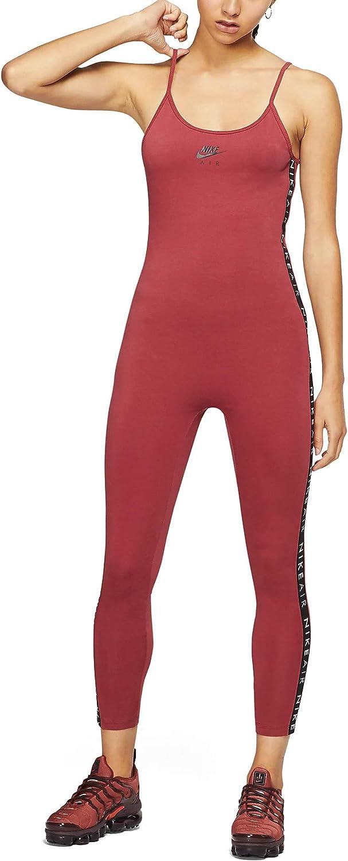 Nike W NSW Air Bodysuit Long Chándal, Mujer, Cedar/Black, M ...