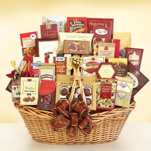 Spectacular Blessings! Merry Christmas Gift Basket by Organic Stores (Blessing Basket)