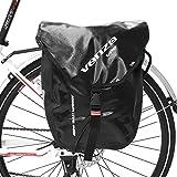 VENZO 600D Polyester Waterproof Bike Bicycle Rear Pannier Bag