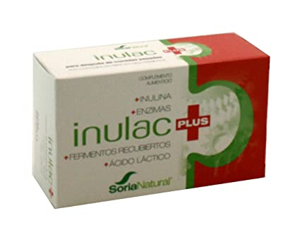 Soria Natural Inulac Plus - 30 Tabletas