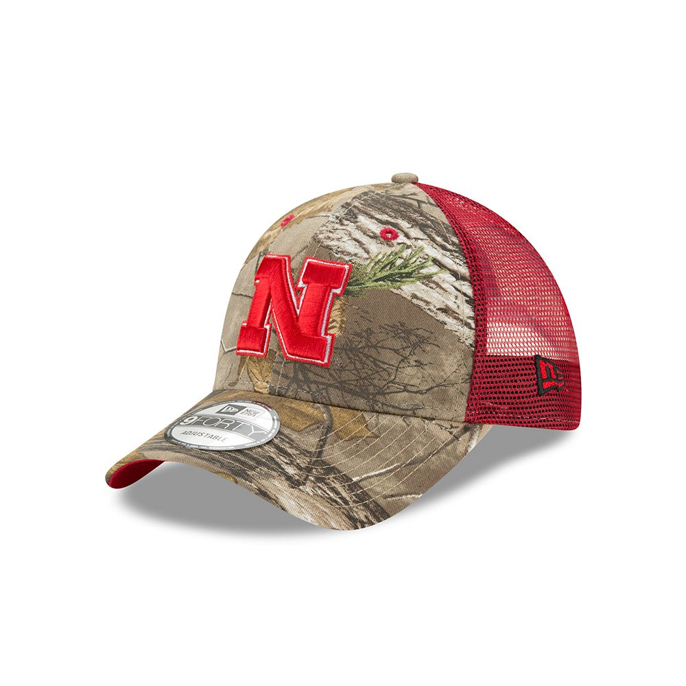 55199b1b6 Amazon.com : Nebraska Cornhuskers Realtree Trucker 9FORTY Snapback ...