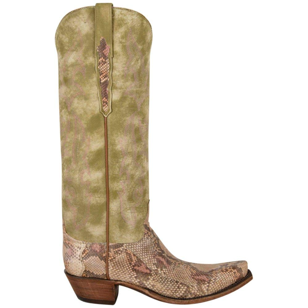 8cee4453d85 Amazon.com | Lucchese Classics Womens Mossy Green Exotic Python ...