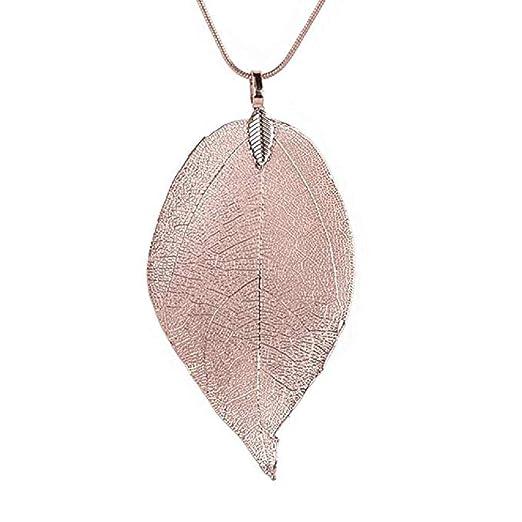 Scpink Venta de liquidación Collar, hojas especiales ...