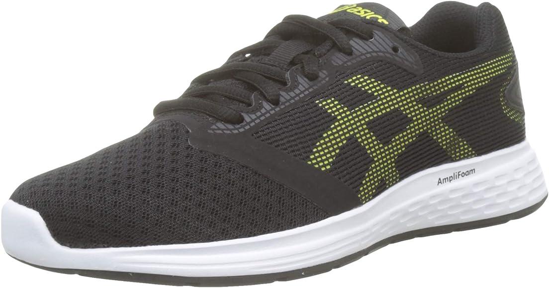 Asics Patriot 10 GS 1014a025-002, Zapatillas de Entrenamiento Unisex Niños, Negro (Black 1014a025/002), 35 1/2 EU: Amazon.es: Zapatos y complementos