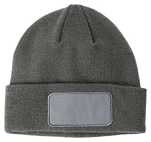 BX PATCH BEANIE (GRAY) (OS)