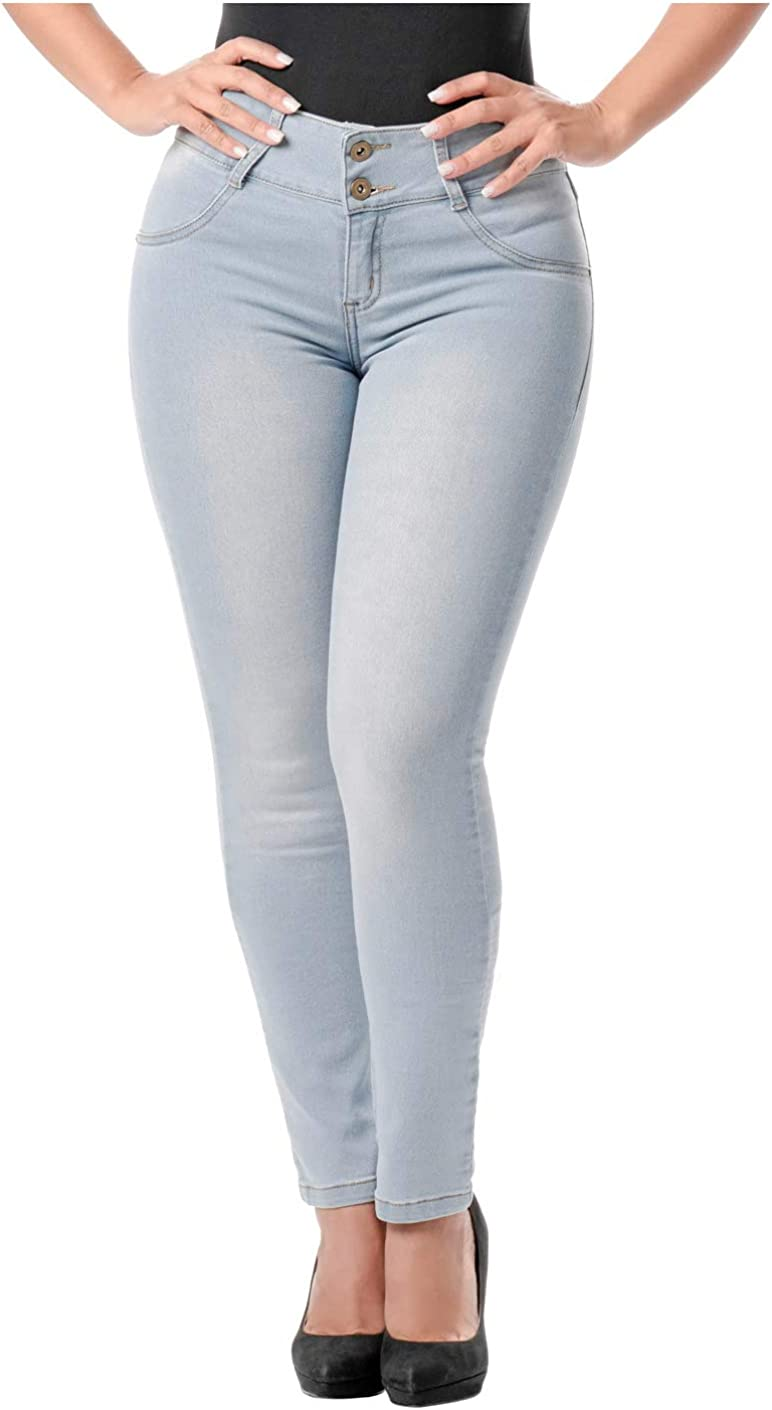L.O.W.L.A SHAPEWEAR Colombian Skinny Butt Lifting Jeans | Jeans Colombianos Levanta Cola