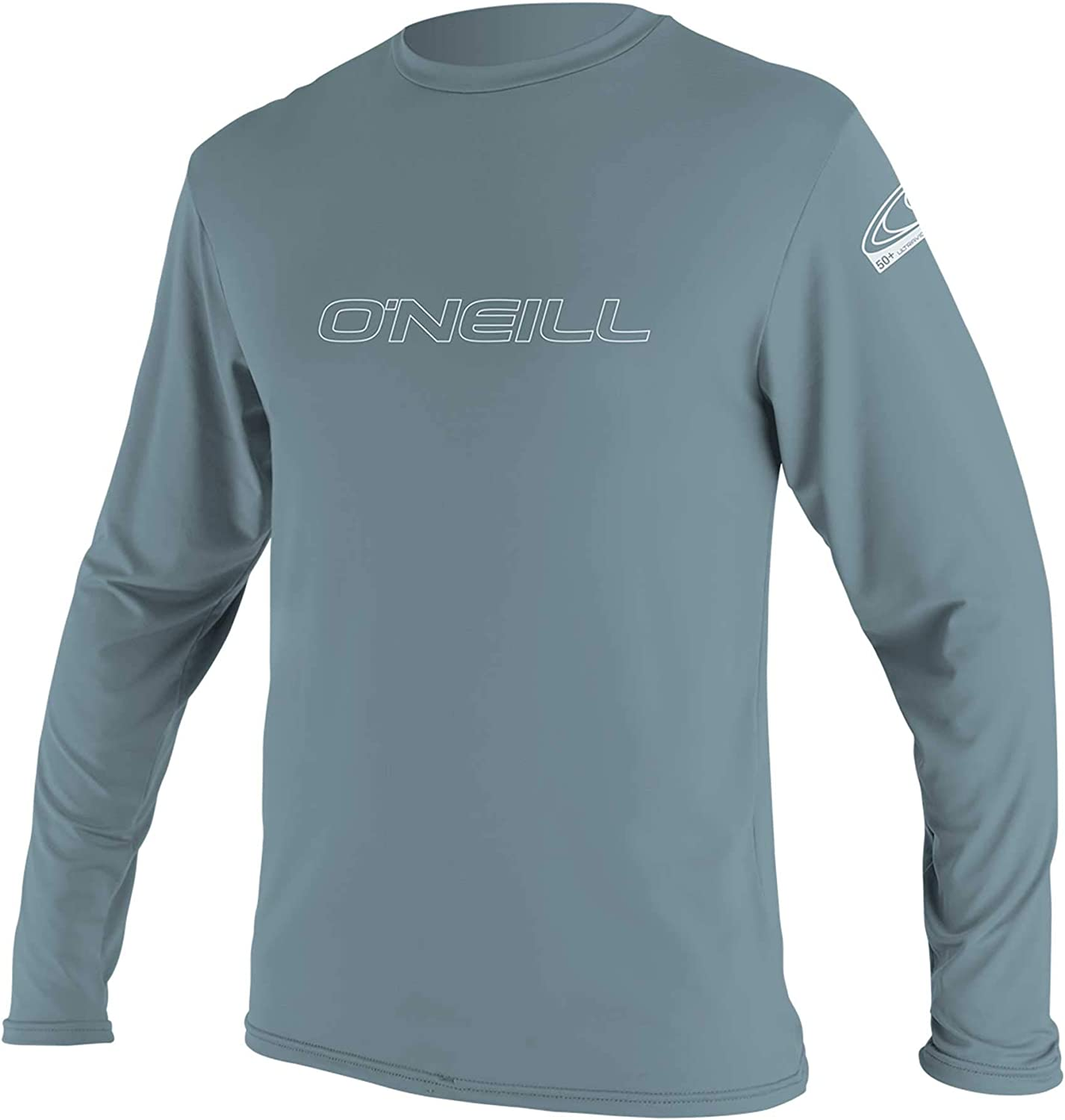 O'Neill Wetsuits Men's Basic Skins 50+ Long Sleeve Sun Shirt