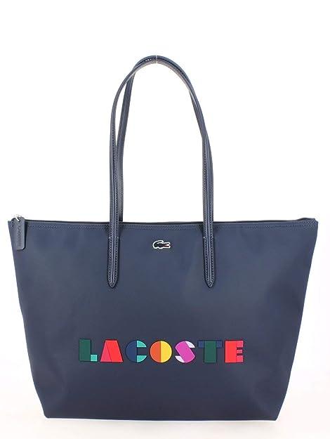 4f20b964086365 Lacoste L.12.12 Shopper Borsa tote 34 cm: Amazon.it: Scarpe e borse