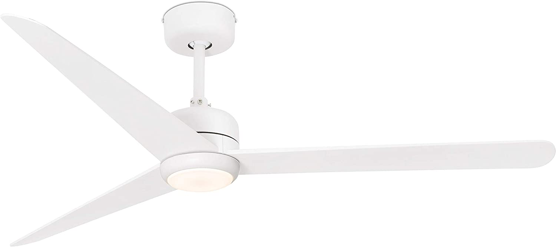 NU LED Ventilateur de plafond avec lumi/ère blanche avec moteur DC Faro Barcelona 33722