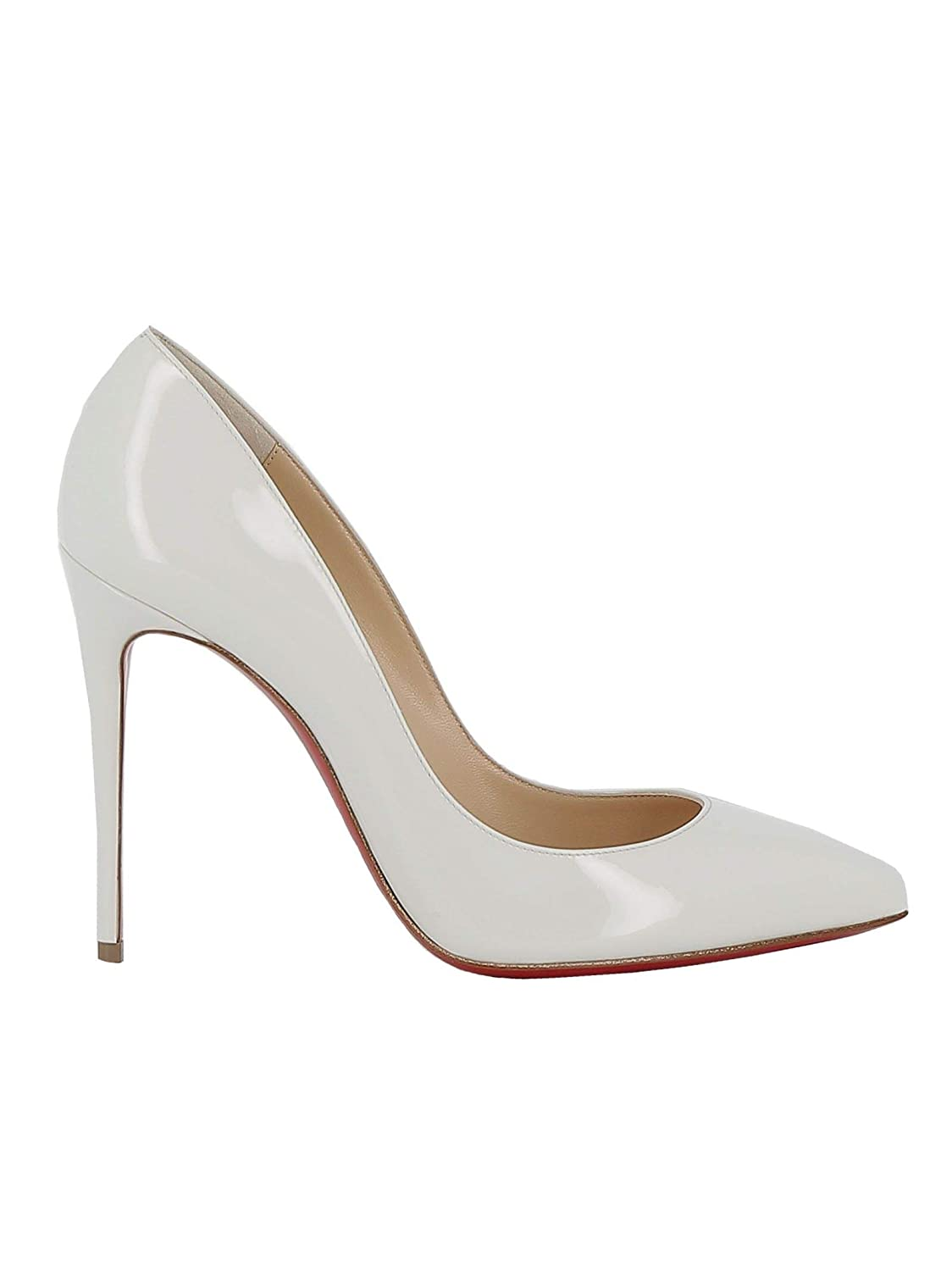 huge discount 5176c a718f Amazon.com | Christian Louboutin Women's 3140495W156 White ...