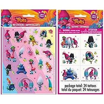 Disney Troll Reward Stickers