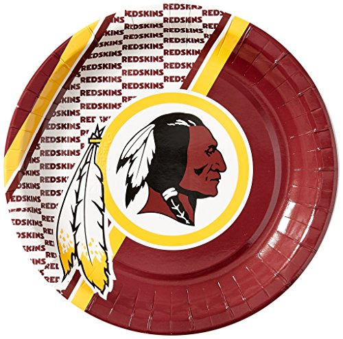 NFL Washington Redskins Disposable Paper Plate (20-Pack)