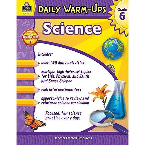 Daily Warm-Ups: Science Grade 6