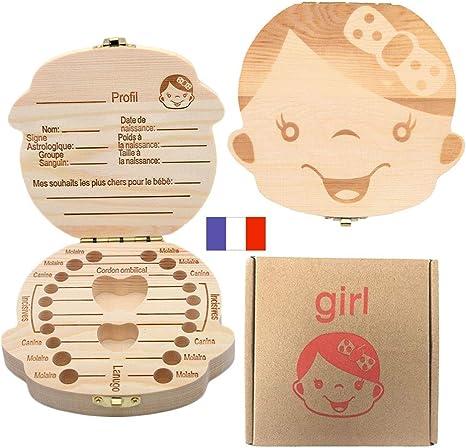 Caja de Dientes para niños, Organizador de Almacenamiento Guardar ...