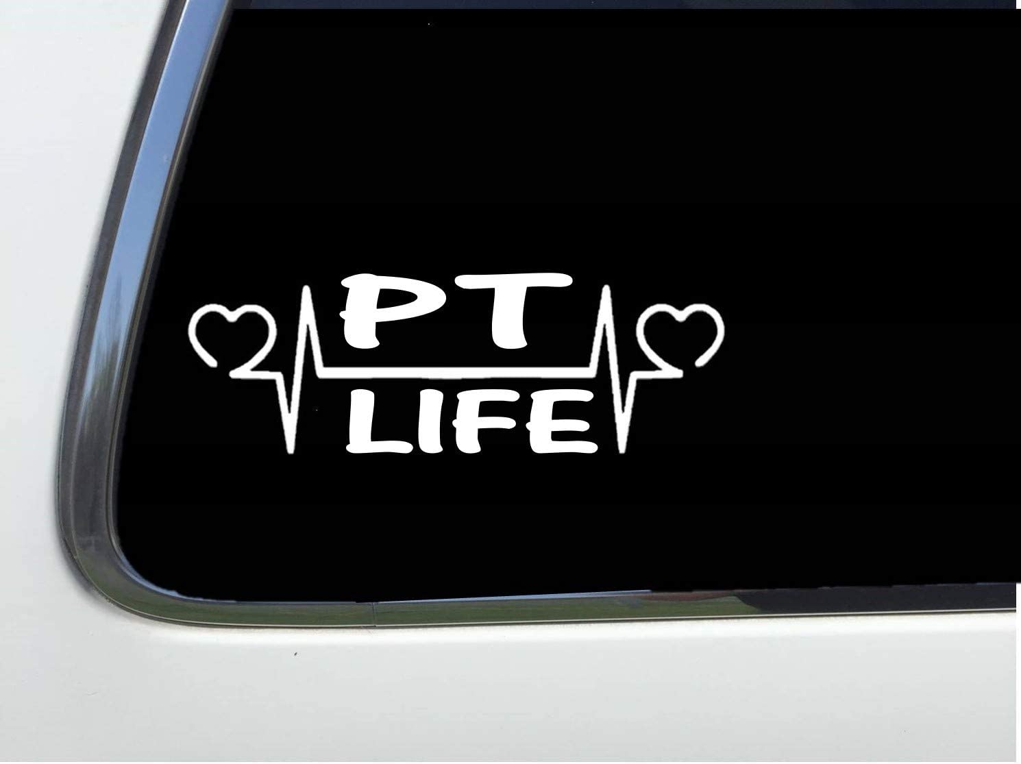 """thatlilcabin - Physical Therapy Vinyl 6"""" Decal AS857"""