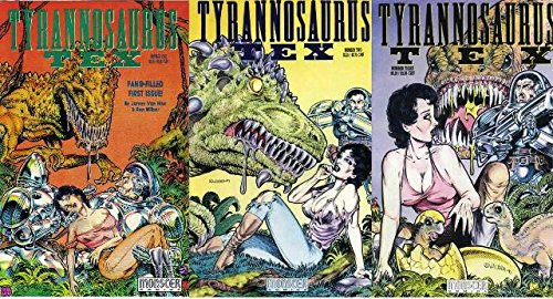 TYRANNOSAURUS TEX (1991 MCX) 1-3 the COMPLETE series!