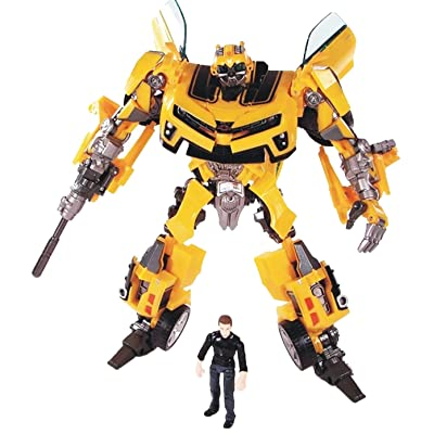 GD-Clothes Transformers Bumblebee Toys-Transformers Bumblebee Figures Toys with Sam Figures-Toys Gift for Kids: Toys & Games