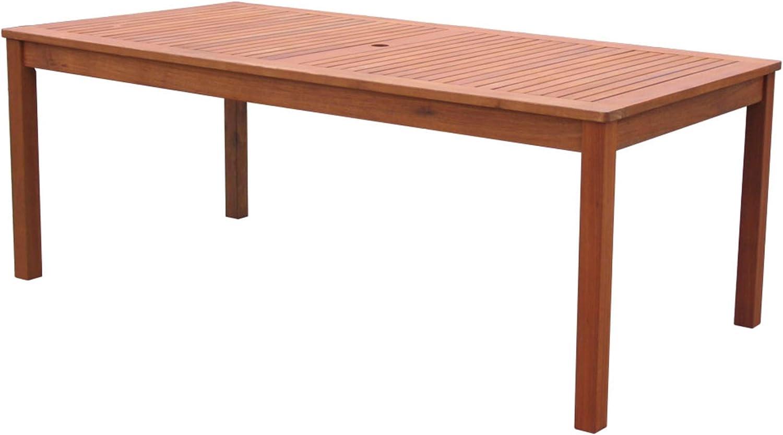 GRASEKAMP Qualität seit 36 Gartentisch 36x36cm Natur Holztisch Tisch  Gartenmöbel Eukalyptus