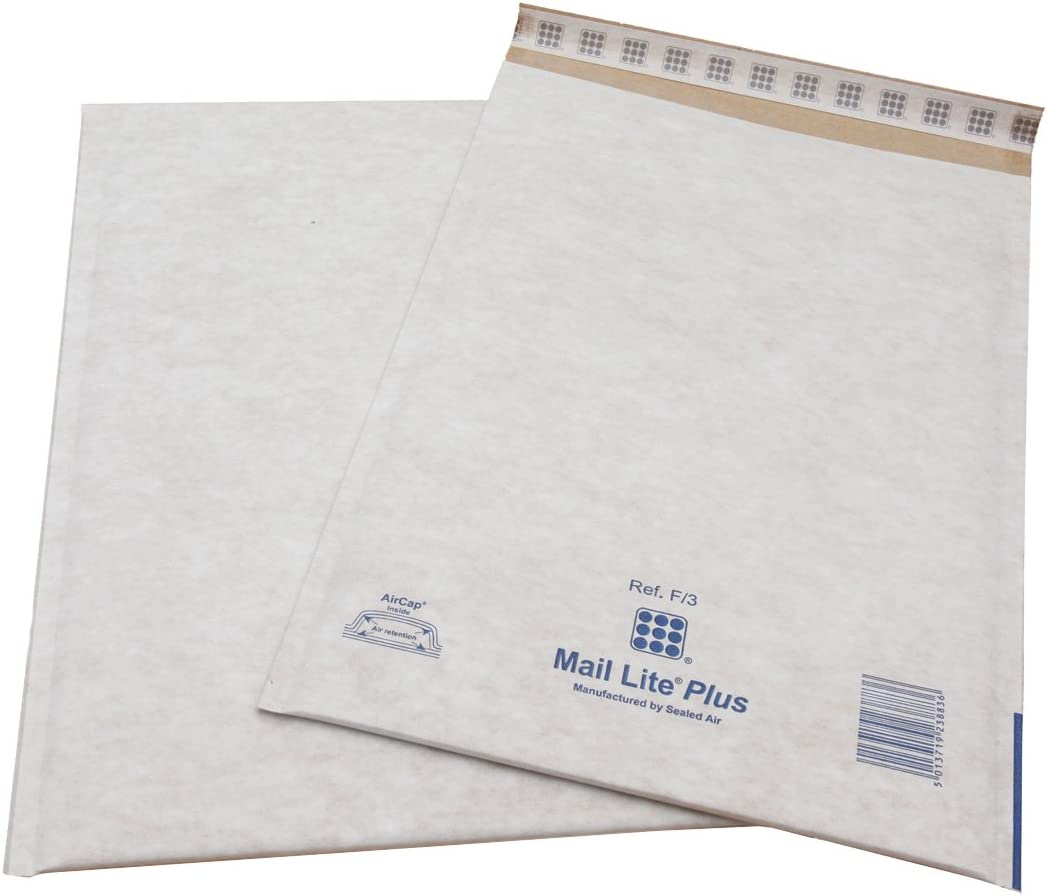 Mail Lite Plus 270 x 360 mm H//5 Oyster Mailer Pack of 50