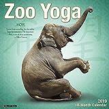 Zoo Yoga 2019 Wall Calendar