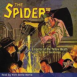 Spider #27, December 1935: The Spider